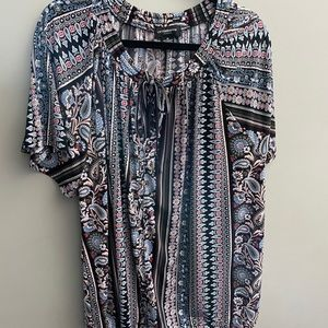 Liz Claiborne 3x paisley blouse